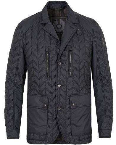 Belstaff Parkwood Quilt Blazer Jacket Navy i gruppen Jackor / Quiltade jackor hos Care of Carl (13038811r)