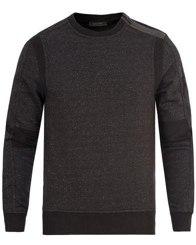 Belstaff Hornby Racing Sweatshirt Black i gruppen Klær / Gensere / Sweatshirts hos Care of Carl (13039611r)