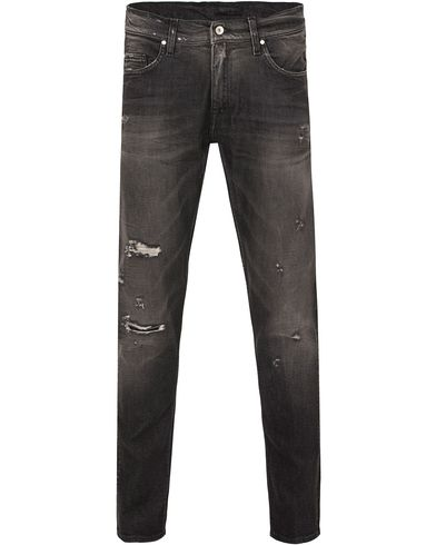 Tiger of Sweden Jeans Pistolero Grid Black Hole i gruppen Kläder / Jeans / Avsmalnande jeans hos Care of Carl (13040611r)