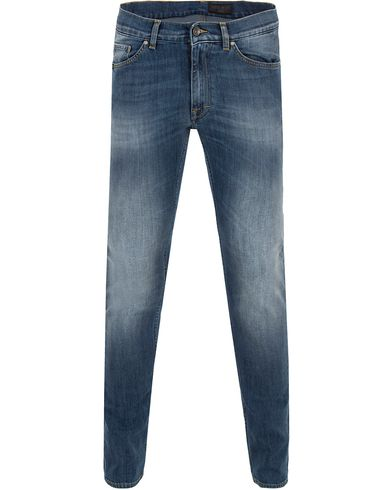 Tiger of Sweden Jeans Straw Leap Light Blue i gruppen Design B / Kläder / Jeans / Smala jeans hos Care of Carl (13041511r)