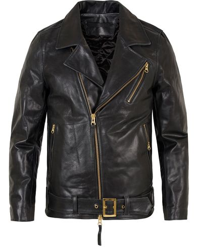 Tiger of Sweden Jeans Hellish Leather Jacket Black i gruppen Jackor / Skinnjackor hos Care of Carl (13042211r)