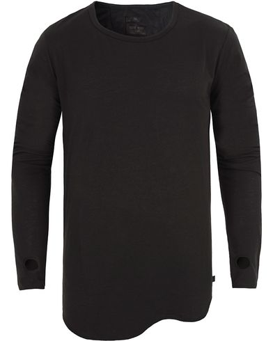 Tiger of Sweden Jeans Roy Long Sleeve Tee Black i gruppen T-Shirts / L�ng�rmad T-shirt hos Care of Carl (13042811r)