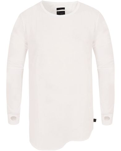 Tiger of Sweden Jeans Roy Long Sleeve Tee White i gruppen Kläder / T-Shirts / Långärmade t-shirts hos Care of Carl (13042911r)