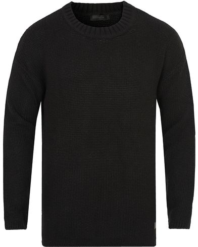 Tiger of Sweden Jeans Boxy Knitted Sweat Black i gruppen Tröjor / Stickade tröjor hos Care of Carl (13043711r)