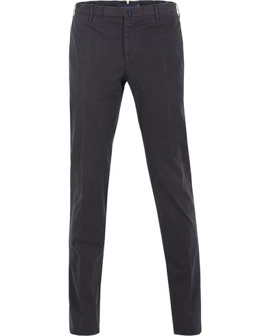 Incotex Slim Fit Comfort Chino Navy i gruppen Byxor / Chinos hos Care of Carl (13044111r)