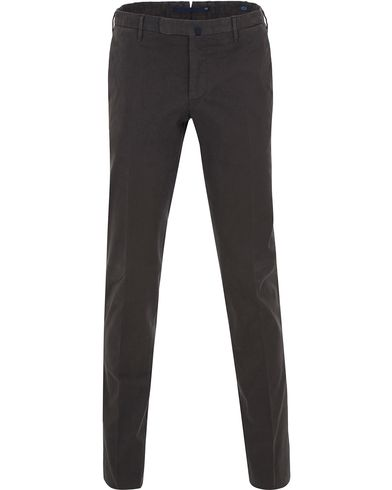 Incotex Slim Fit Comfort Chino Dark Grey i gruppen Kläder / Byxor / Chinos hos Care of Carl (13044411r)