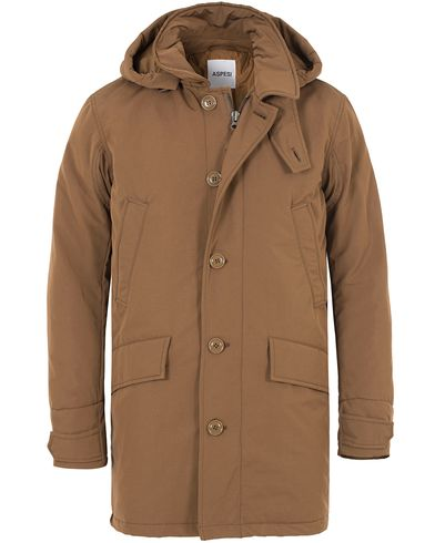 Aspesi Thermore® Parka Brown i gruppen Jackor / Parkas hos Care of Carl (13046211r)