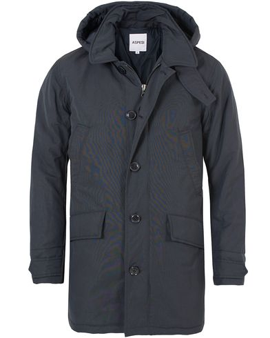 Aspesi Thermore® Parka Dark Navy i gruppen Jackor / Parkas hos Care of Carl (13046311r)