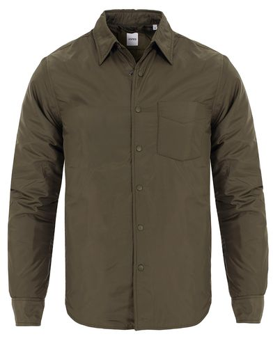 Aspesi Shirt Jacket Military Green i gruppen Kläder / Jackor / Tunna jackor hos Care of Carl (13046611r)