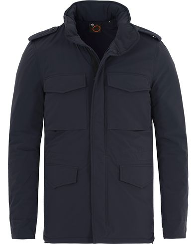 Aspesi Stretch Down Field Jacket Dark Navy i gruppen Jackor / Fieldjackor hos Care of Carl (13046911r)