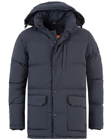 Aspesi New Moshino Down Fill Jacket Navy i gruppen Klær / Jakker / Vatterte jakker hos Care of Carl (13047211r)