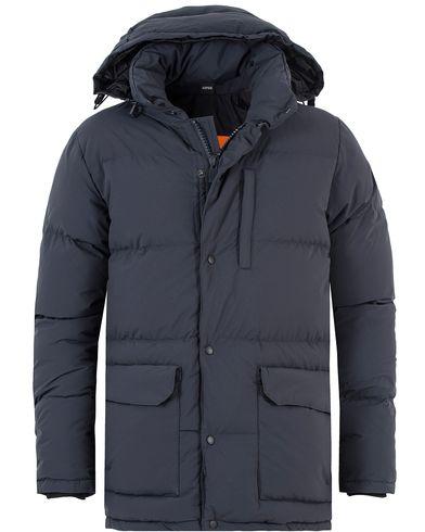 Aspesi New Moshino Down Fill Jacket Navy i gruppen Design A / Jakker / Vatterte jakker hos Care of Carl (13047211r)