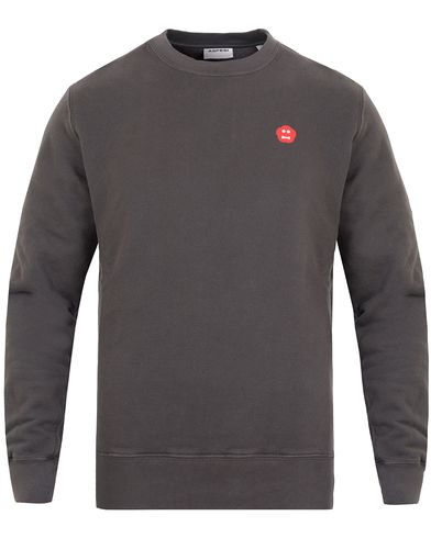 Aspesi Crew Neck Mini Logo Sweatshirt Light Grey i gruppen Kläder / Tröjor / Sweatshirts hos Care of Carl (13047811r)