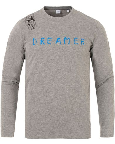 Aspesi Dreamer Long Sleeve Tee Grey i gruppen Klær / T-Shirts / Langermede t-shirts hos Care of Carl (13048111r)