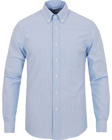 Aspesi Button Down Oxford Shirt Light Blue i gruppen Skjorter / Casual Skjorter hos Care of Carl (13048511r)