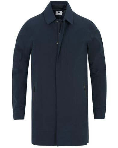 NN07 Double Owen 8140 Trenchcoat Navy i gruppen Klær / Jakker / Frakker hos Care of Carl (13048711r)