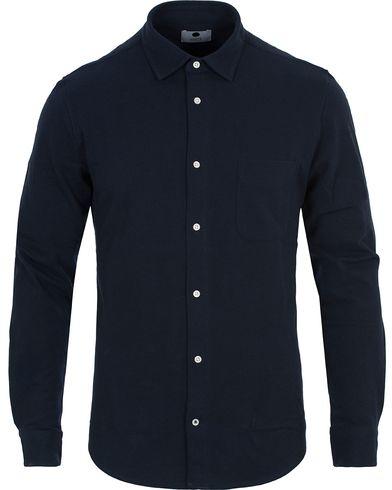 NN07 Sean 3267 Jersey Shirt Navy i gruppen Skjorter / Pikéskjorter hos Care of Carl (13049011r)