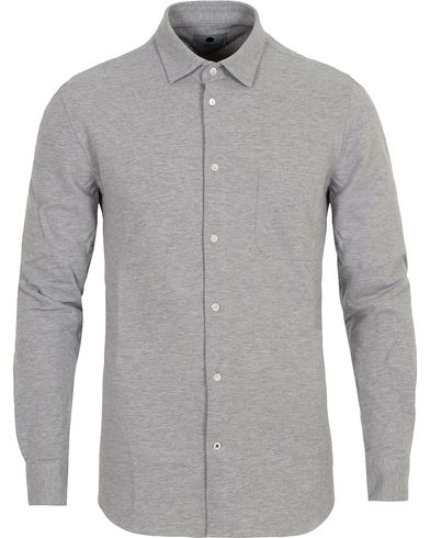 NN07 Sean 3267 Jersey Shirt Grey i gruppen Skjortor / Pikéskjortor hos Care of Carl (13049111r)