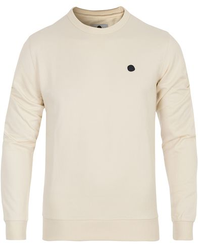 NN07 Base 3265 Sweater Off White i gruppen Design A / Gensere / Sweatshirts hos Care of Carl (13049211r)