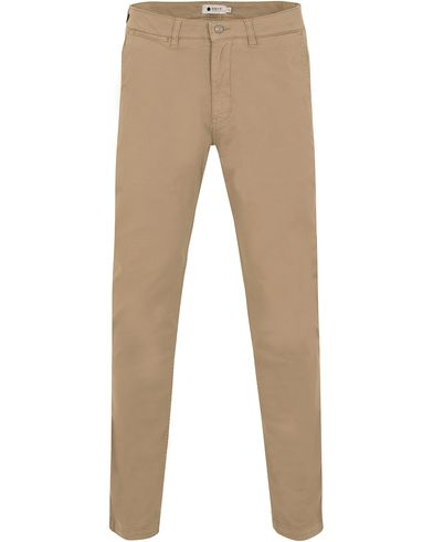 NN07 Marco 1200 Stretch Chinos Light Khaki i gruppen Byxor / Chinos hos Care of Carl (13049711r)