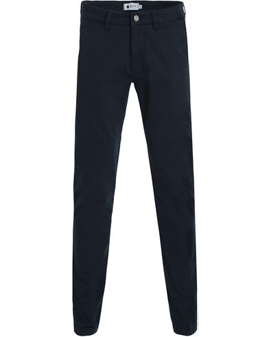 NN07 Marco 1200 Stretch Chinos Navy i gruppen Kläder / Byxor / Chinos hos Care of Carl (13050111r)
