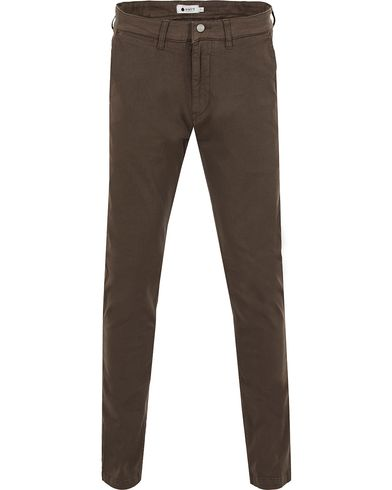 NN07 Marco 1200 Stretch Chinos Brown i gruppen Kläder / Byxor / Chinos hos Care of Carl (13050611r)