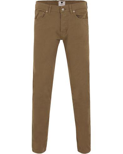 NN07 5-Pocket Pants Khaki i gruppen Klær / Bukser / 5-lommersbukser hos Care of Carl (13051111r)