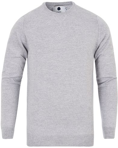 NN07 Barca 6120 C-Neck Pullover Pale Grey i gruppen Tr�jor / Pullover / Pullover Rundhals hos Care of Carl (13052111r)