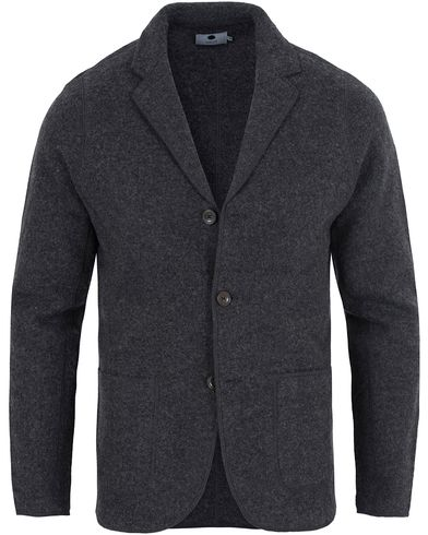 NN07 Wallace Wool Blazer Antracite Grey i gruppen Klær / Gensere / Cardigans hos Care of Carl (13052911r)