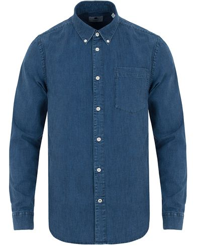 NN07 Falk Denim Shirt Indigo Blue i gruppen Skjorter / Jeansskjorter hos Care of Carl (13054011r)