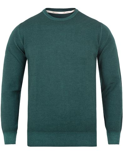 Stenströms Shadow Dyed Crew Neck Pullover Green i gruppen Tröjor / Pullovers / Rundhalsade pullovers hos Care of Carl (13057511r)