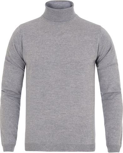 Stenströms Roll Neck Pullover Light Grey i gruppen Design A / Gensere / Pologensere hos Care of Carl (13057711r)