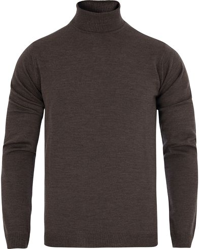 Stenströms Roll Neck Pullover Brown i gruppen Klær / Gensere / Pologensere hos Care of Carl (13058011r)