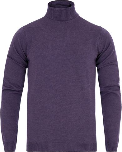 Stenströms Roll Neck Pullover Purple i gruppen Gensere / Pologensere hos Care of Carl (13058211r)