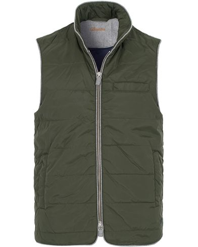 Stenstr�ms Quilted Nylon Vest Green i gruppen Jakker / Yttervester hos Care of Carl (13058611r)