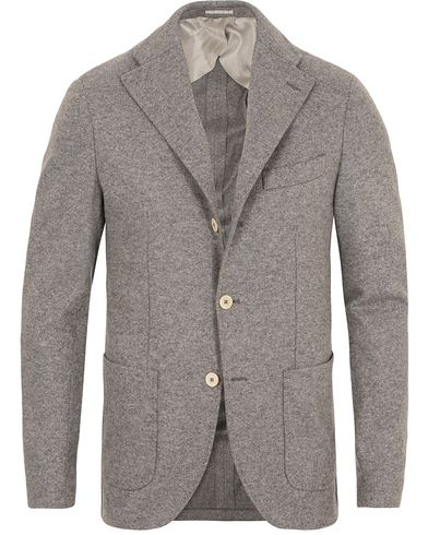 Stenströms Wool Blazer Grey i gruppen Kavajer / Enkelknäppta kavajer hos Care of Carl (13058811r)