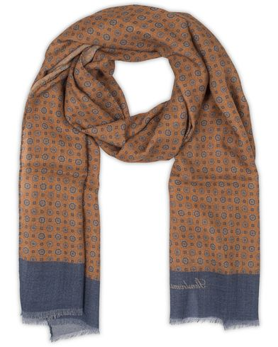 Stenströms Medallion Wool Scarf Orange  i gruppen Accessoarer / Scarves hos Care of Carl (13059210)