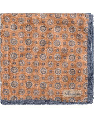 Stenströms Medallion Wool Pocket Square Orange  i gruppen Accessoarer / Näsdukar hos Care of Carl (13061510)