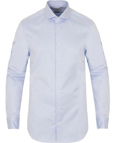 Stenstr�ms Slimline Club Collar Shirt Blue i gruppen Skjorter / Businesskjorter hos Care of Carl (13062811r)