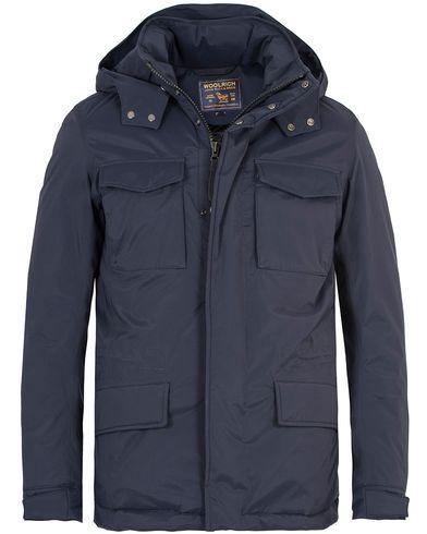 Woolrich Mordon Field Jacket Melton Blue i gruppen Kläder / Jackor / Vadderade jackor hos Care of Carl (13066011r)