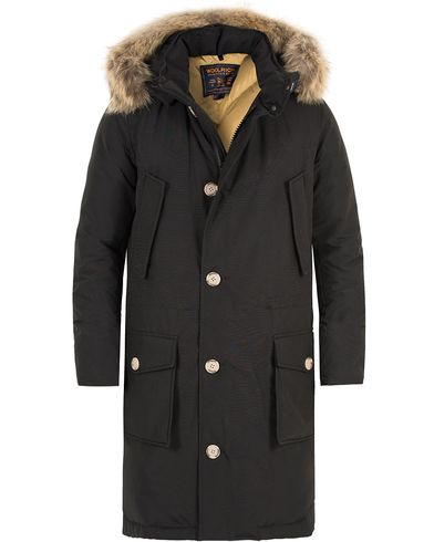 Woolrich Long Arctic Parka DF New Black i gruppen Kläder / Jackor / Parkas hos Care of Carl (13066311r)