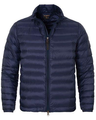 Woolrich Sundance Lightweight Jacket Ocean Blue i gruppen Kläder / Jackor / Tunna jackor hos Care of Carl (13066611r)
