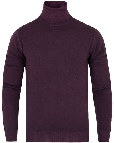 Etro Vintage Wool Roll Neck Bordeaux Purple i gruppen Gensere / Pologensere hos Care of Carl (13070411r)