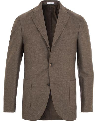 Boglioli Wool K Jacket Blazer Stone Grey i gruppen Klær / Dressjakker / Enkeltspente dressjakker hos Care of Carl (13072511r)
