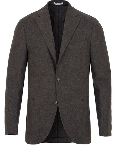 Boglioli Wool/Cashmere K Jacket Blazer Light Grey i gruppen Dressjakker / Enkeltspente dressjakker hos Care of Carl (13072611r)