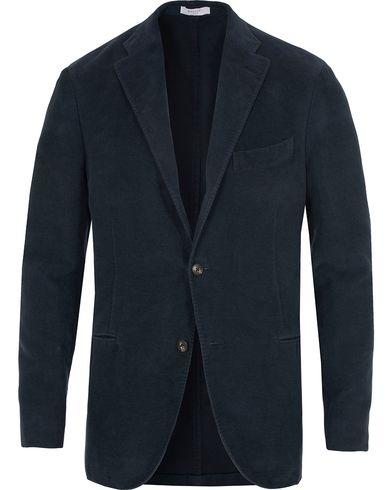 Boglioli Moleskin K Jacket Blazer Dark Navy i gruppen Kläder / Kavajer / Enkelknäppta kavajer hos Care of Carl (13072711r)