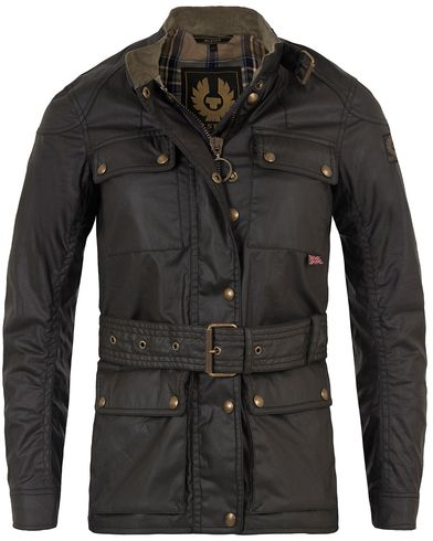 Belstaff Woman Roadmaster Waxed Jacket Black i gruppen Assesoarer hos Care of Carl (13073511r)