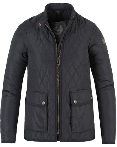 Belstaff Woman Randall Quilted Jacket Dark Navy i gruppen Accessoarer hos Care of Carl (13073611r)