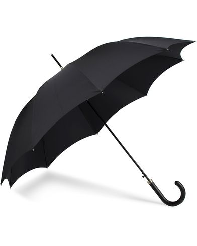 Fox Umbrellas Hardwood Automatic Umbrella Black  i gruppen Accessoarer / Paraplyn hos Care of Carl (13074810)