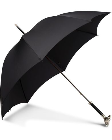 Fox Umbrellas Silver Fox Umbrella Black  i gruppen Assesoarer hos Care of Carl (13075410)
